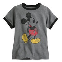 Image of Classic Mickey Mouse Ringer Tee for Boys # 1