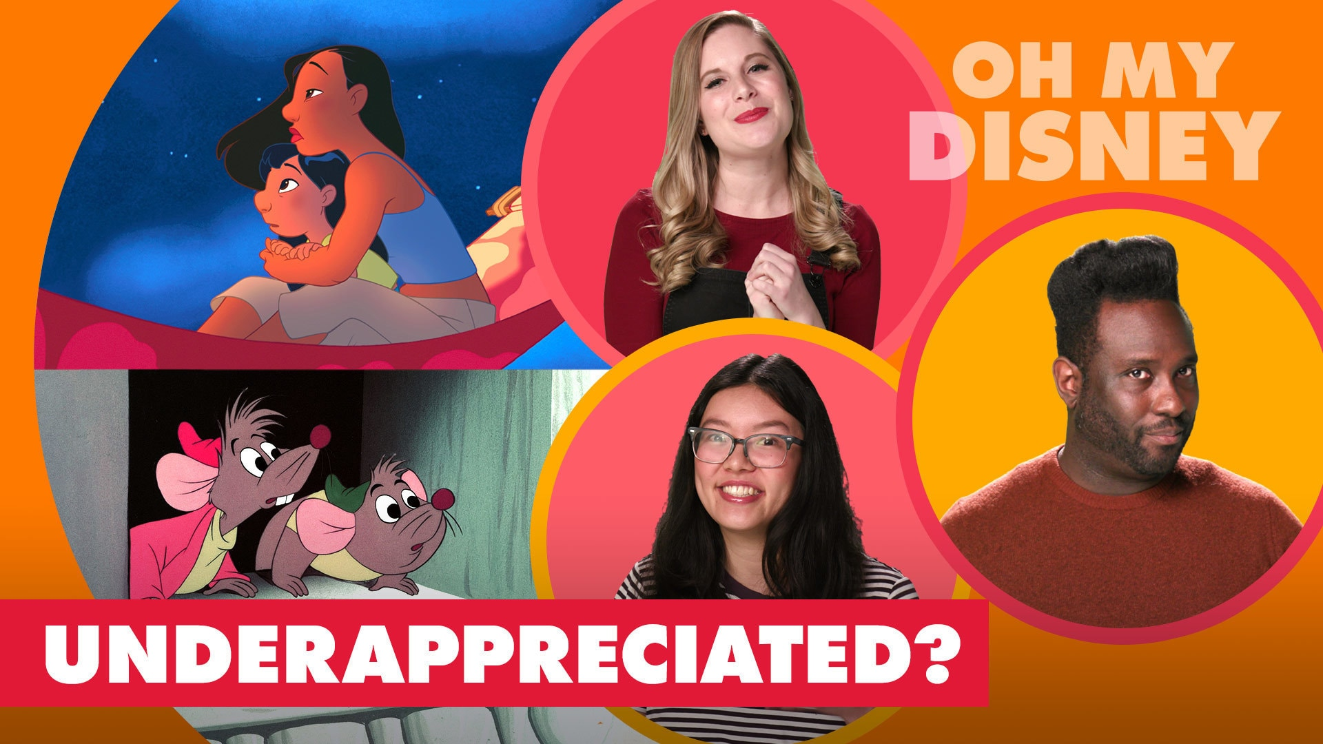 The Most Under-Appreciated Disney Characters | Let's Talk Disney by Oh My Disney