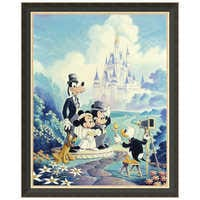 Image of ''Mickey and Minnie Wedding'' Giclée by Randy Souders # 7