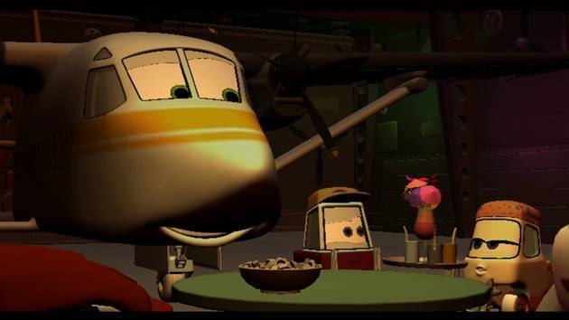 Honkers - Planes: Fire & Rescue Deleted Scene