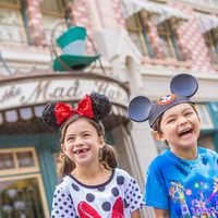 Image of Mickey Mouse Ear Hat For Kids - Disneyland - Personalizable # 4