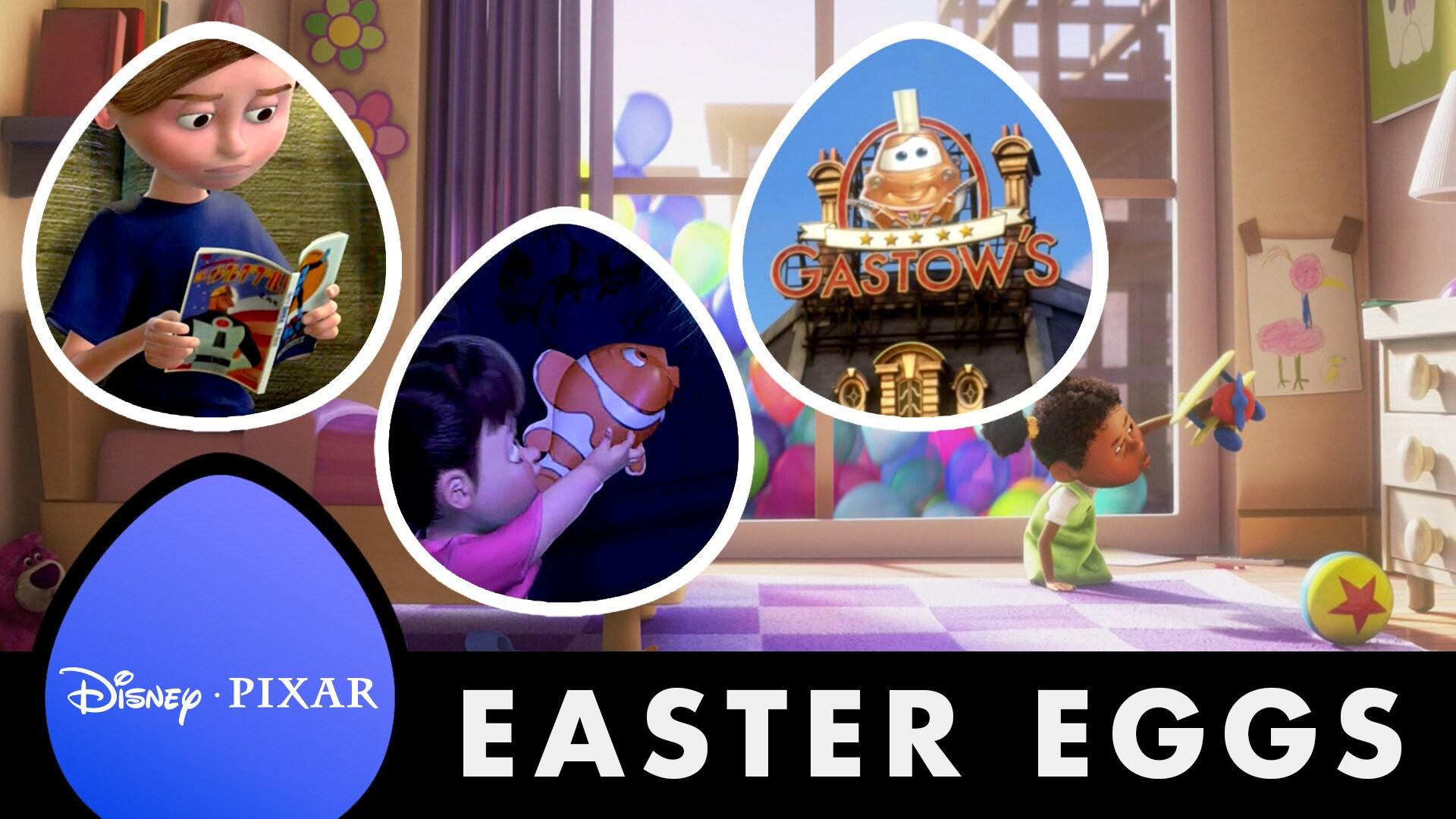 More of the Best Pixar Easter Eggs - Oh My Disney