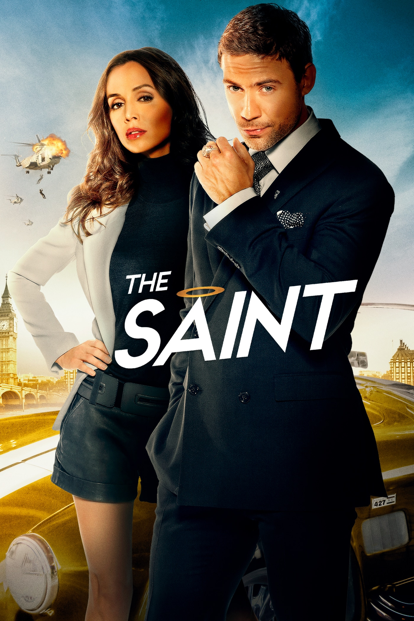 The Saint movie poster
