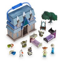 Image of Disney Animators' Collection Littles Frozen Micro Doll Play Set - 2'' # 3