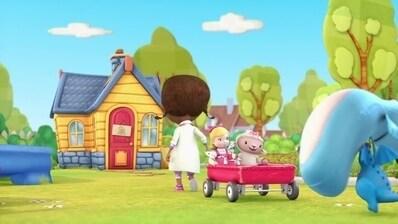 Doc McStuffins, Spielzeugärztin - Chefköchin Lammie/Nicht mit vollem Mund sprechen!