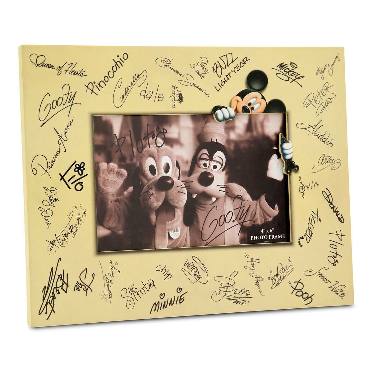 Disney Characters Signature Photo Frame - 4\'\' x 6\'\' | shopDisney