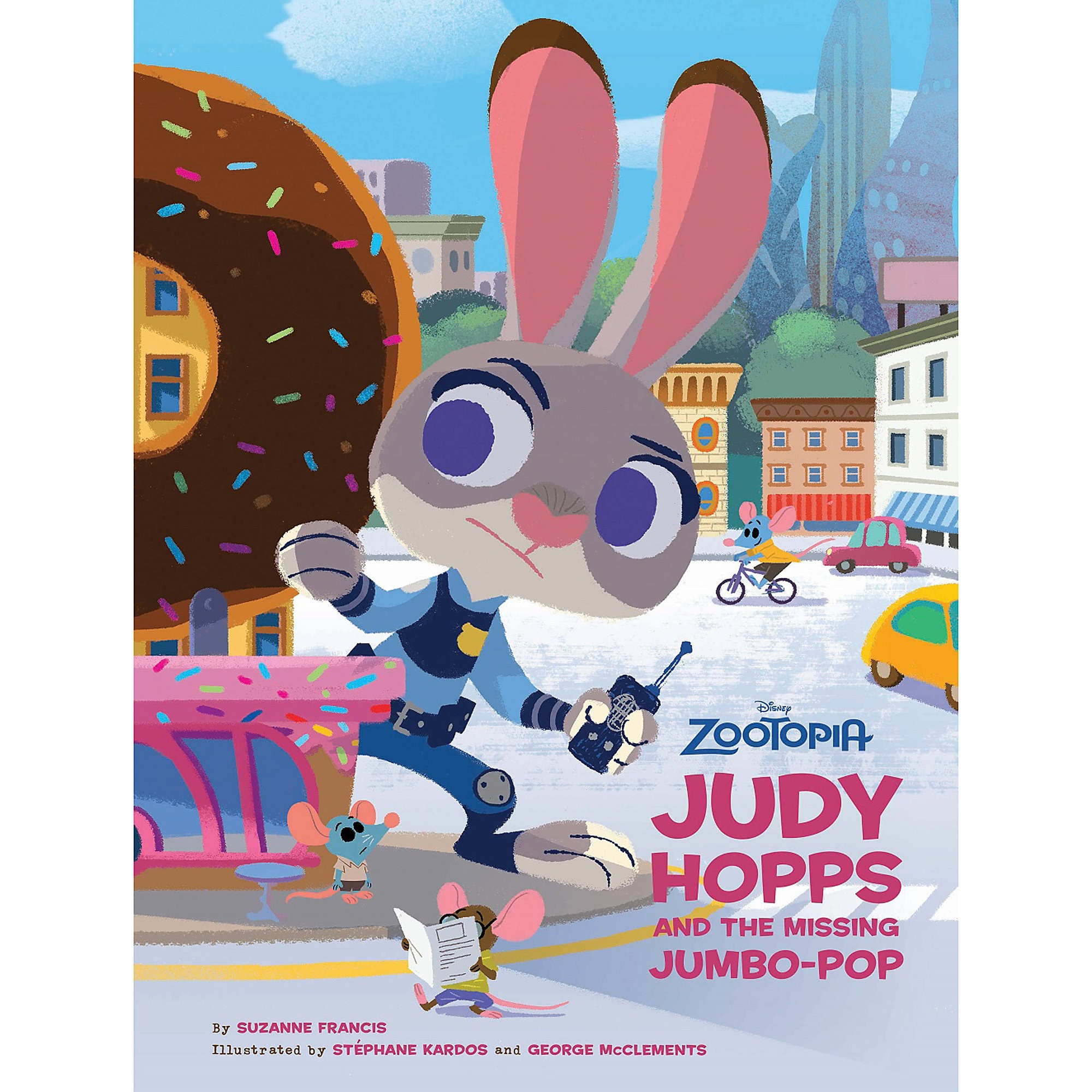 Zootopia: Judy Hopps and the Missing Jumbo-Pop Book