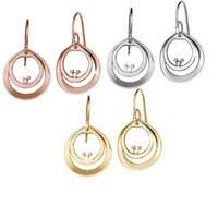 Mickey Mouse Diamond Double Hoop Earrings