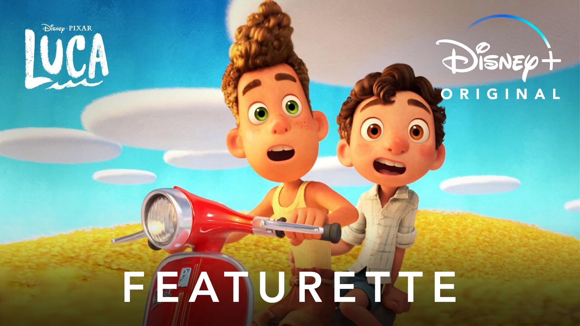 Evolution of a World | Disney and Pixar's Luca | Disney+