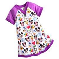 World of Disney Emoji Nightshirt for Girls