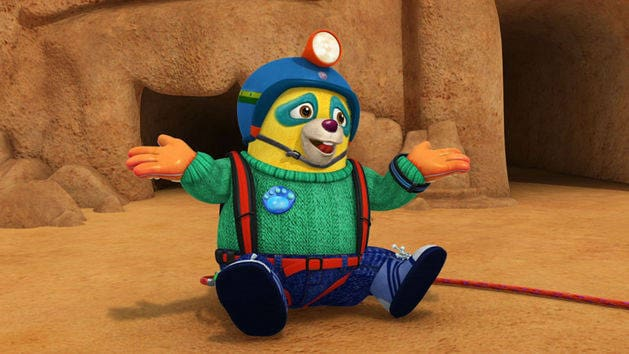 Special Agent Oso A View To A Fire Drill Thunderbelt