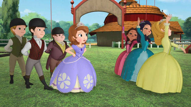 Cuál princesa actuar - Princesita Sofía