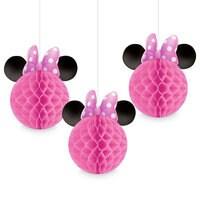 Minnie Mouse Honeycomb Balls