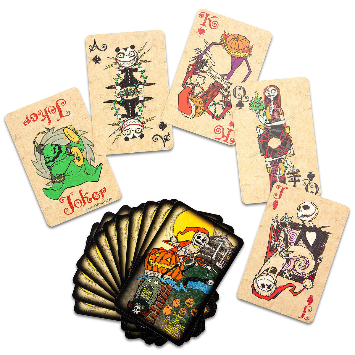 The Nightmare Before Christmas Playing Card Set | shopDisney