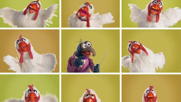 Galinhas Clássicas - Os Muppets