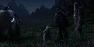Yoda's Farewell to Chewbacca