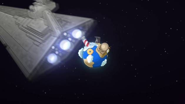 Star Wars Rebels Takeover - Club Penguin