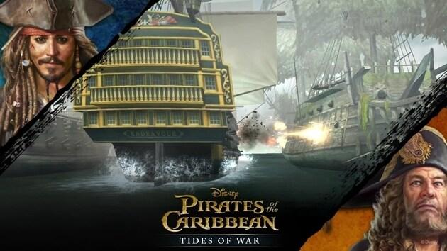 ตัวอย่างแอพล่าสุด Pirates of the Caribbean : Tides of War