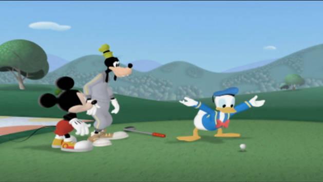 Balanceo con Donald - Mousekejercicios