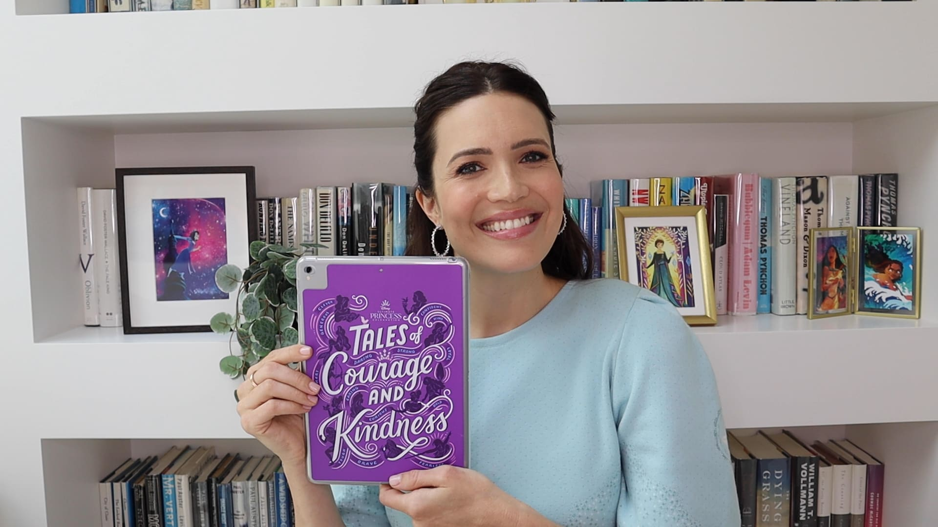 """Mandy Moore Reads from """"Tales of Courage and Kindness"""""""