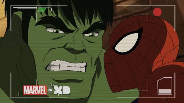 Ultimate Spider-Man - Hulk skaper kaos