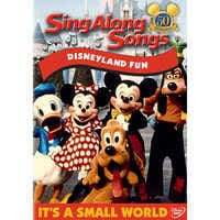 Image of Sing Along Songs: Disneyland Fun DVD # 1