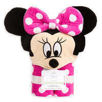 Image of Minnie Mouse Hooded Towel for Baby - Personalizable # 4