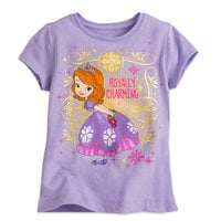 Sofia the First Tee for Girls