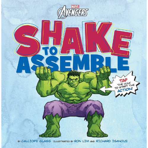 Marvel's Avengers Shake to Assemble Book