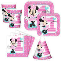 Image of Minnie Mouse 1st Birthday Disney Party Collection # 1