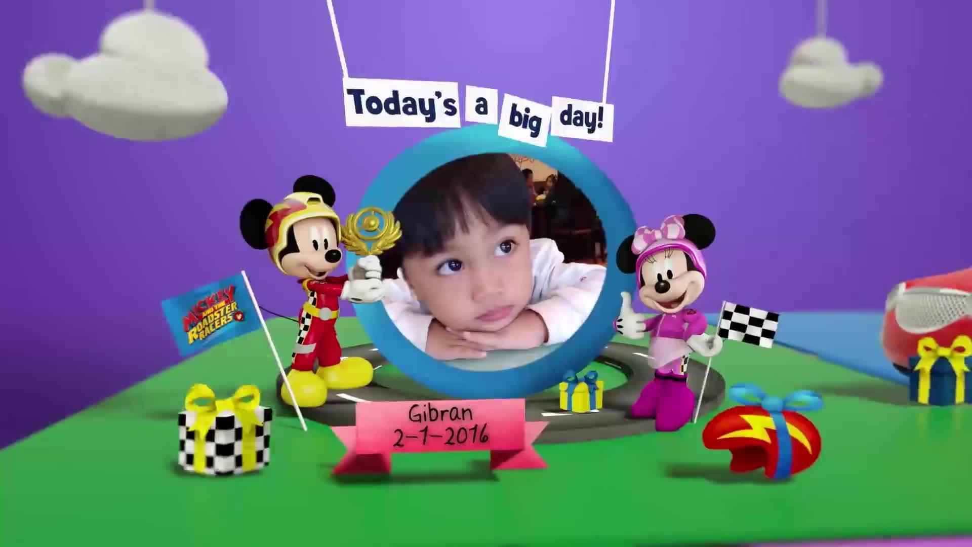 Disney Junior Birthday Book 2020 January Album 1
