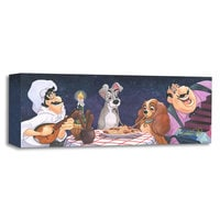 Lady & the Tramp ''A Serenade for Lady'' Giclée by Michelle St. Laurent