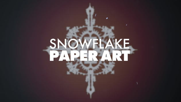 Tangled Snowflake Cut Out Craft | SKETCHBOOK | Oh My Disney