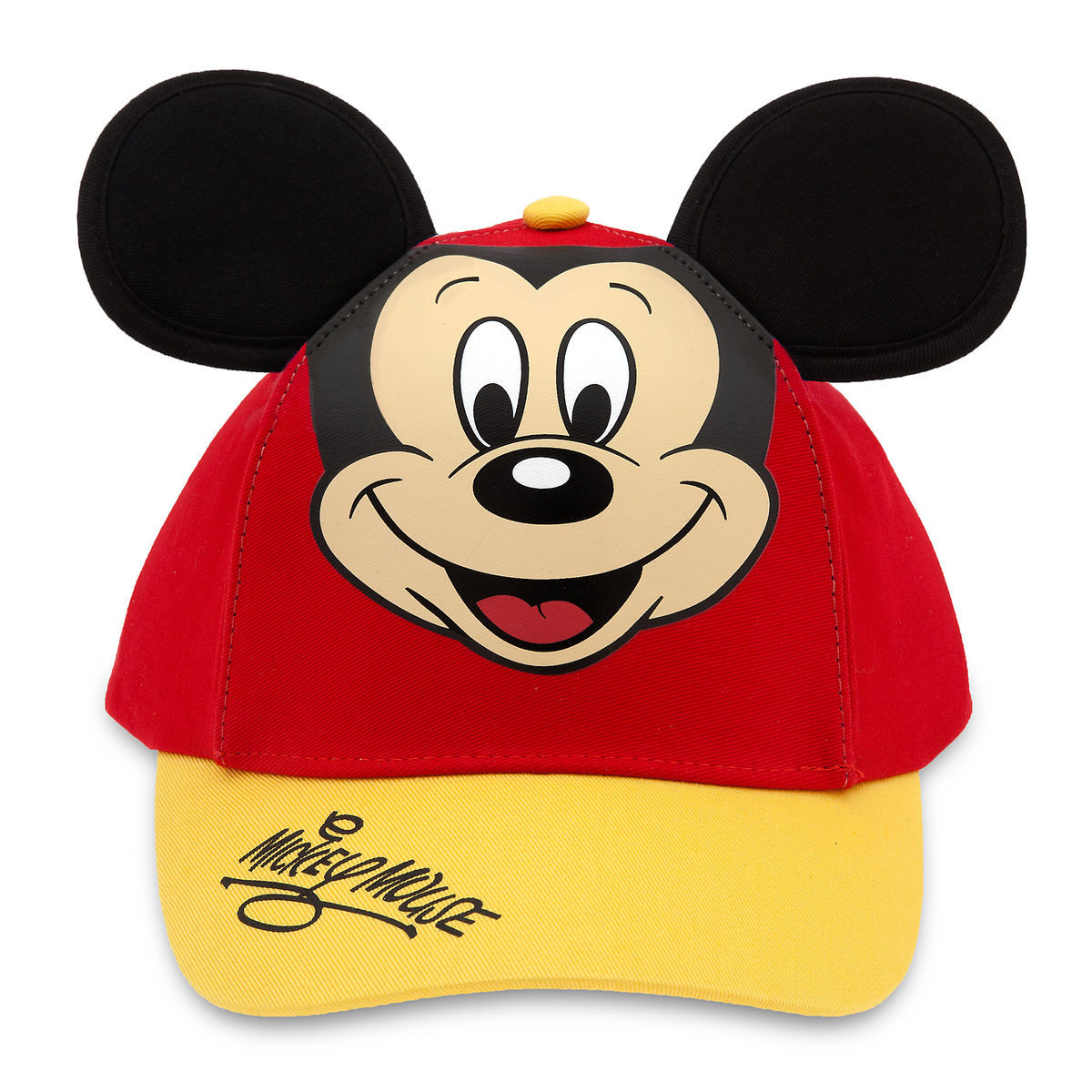 Product Image of Mickey Mouse Baseball Cap for Kids - Red Gold   1 1b572ba7335b