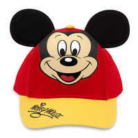 Image of Mickey Mouse Baseball Cap for Kids - Red/Gold # 1