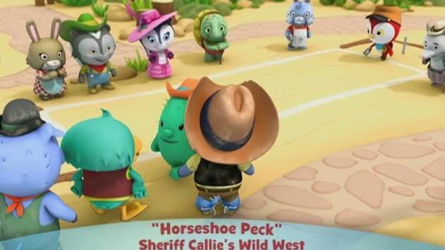Sheriff Callie's Wild West: Hourseshoe Peck - Music Video