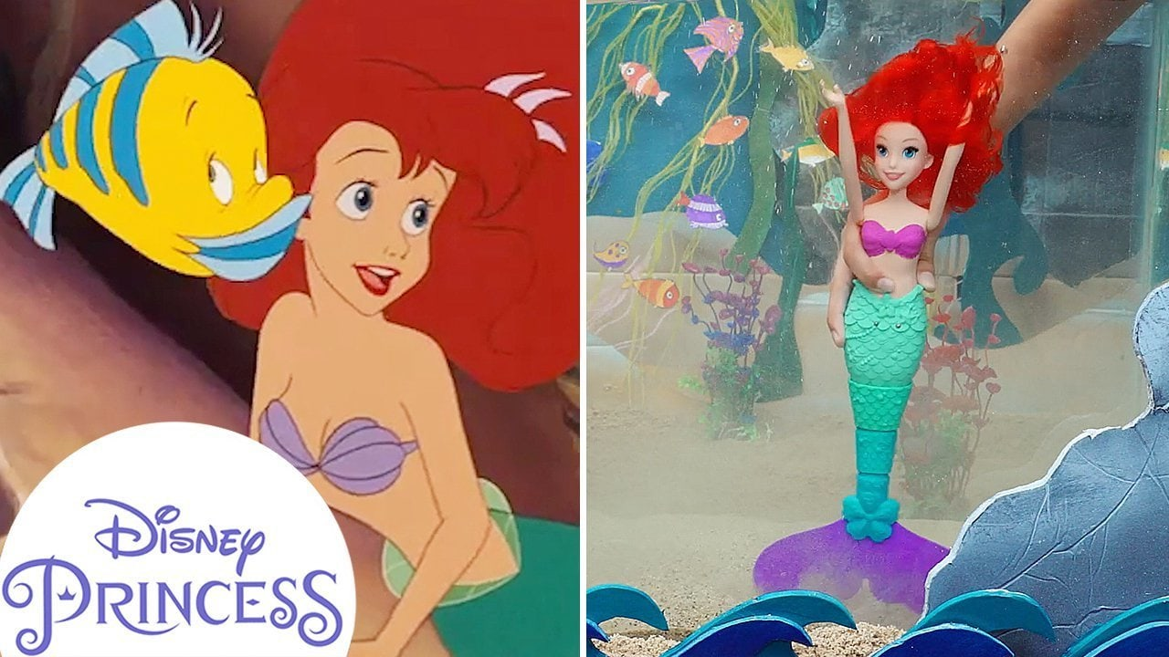 'Under the Sea' Toy Music Video! | The Little Mermaid | Disney Princess