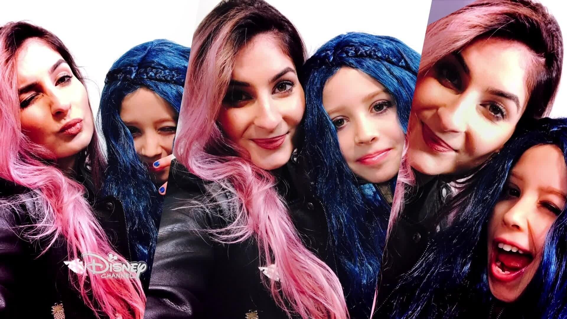 Disney Channel : Happy Moments - Maquillage Descendants pour Valentine par Lufy