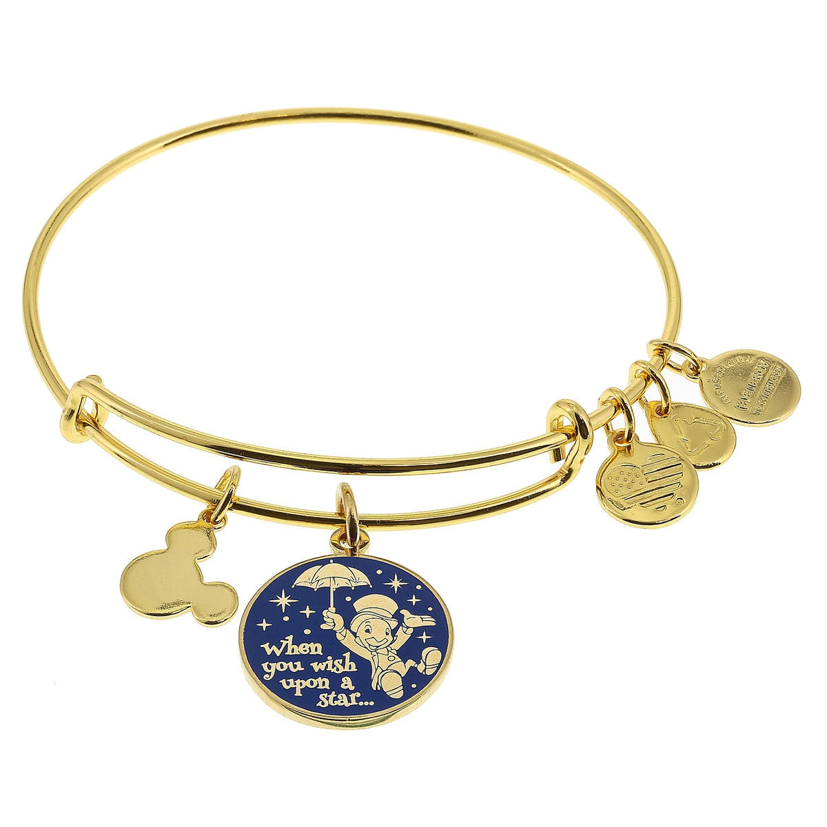 Jiminy Cricket \'\'When You Wish Upon a Star . . .\'\' Bangle by Alex ...