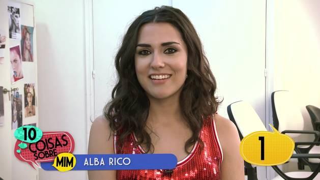 10 coisas sobre mim: Alba Rico