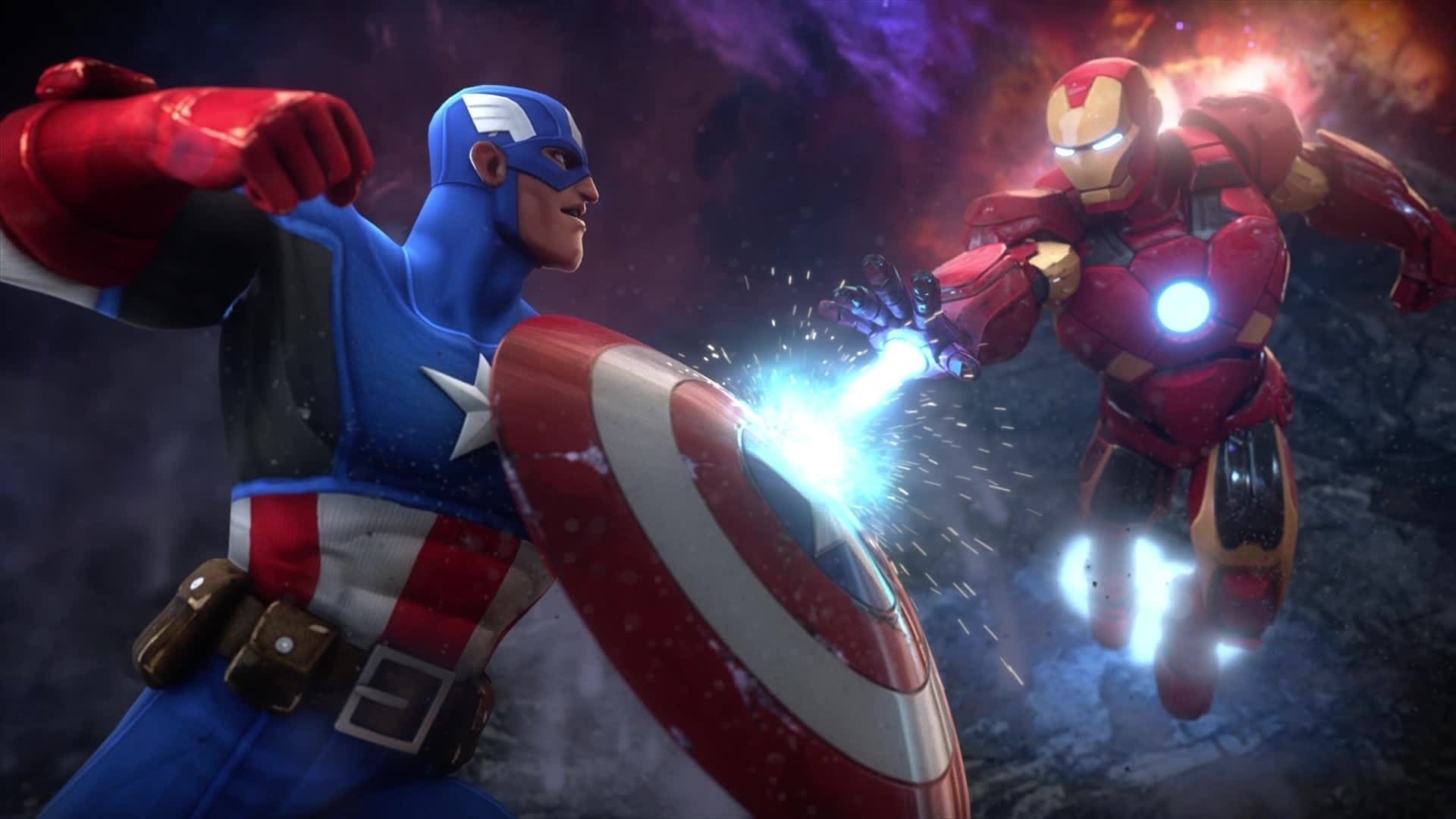 ตัวอย่าง Marvel Contest of Champions