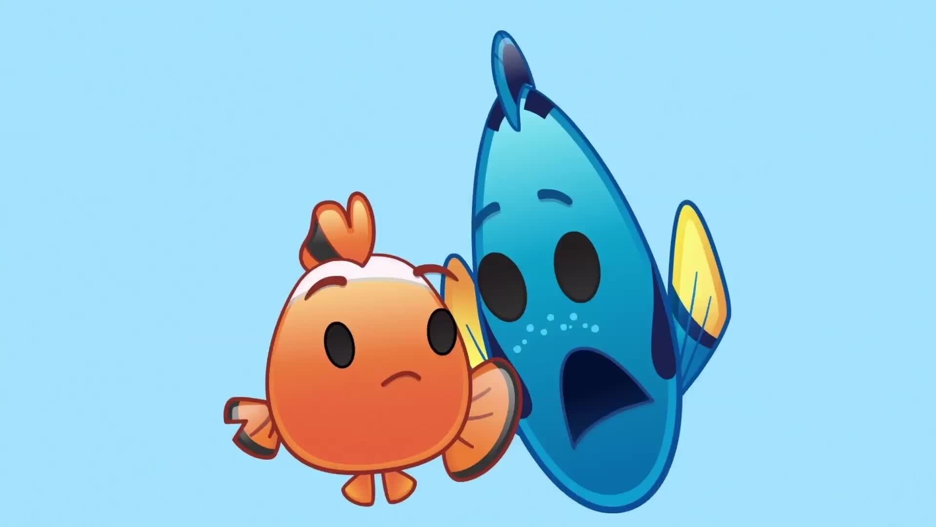 Le Monde de Dory raconté par des Emojis