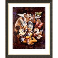 Image of Mickey Mouse and Friends ''Super Gang'' Giclée by Darren Wilson # 3