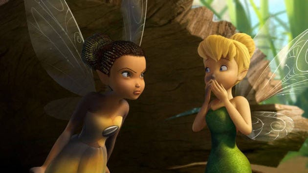 Scrubbed The Wrong Way - Disney Fairies Shorts