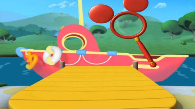 Mickey Mouse Clubhuis - Verstoppertje met Pluto: Bij de Boot