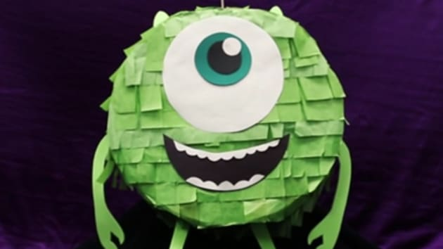 Monsters Inc Mike Wazowski Pinata Disney Lol