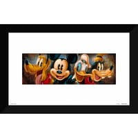 Mickey Mouse and Friends ''Four Characters'' Giclée by Darren Wilson