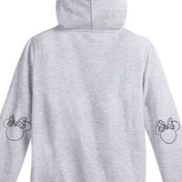 Image of Minnie Mouse Bow Zip Hoodie for Women # 2