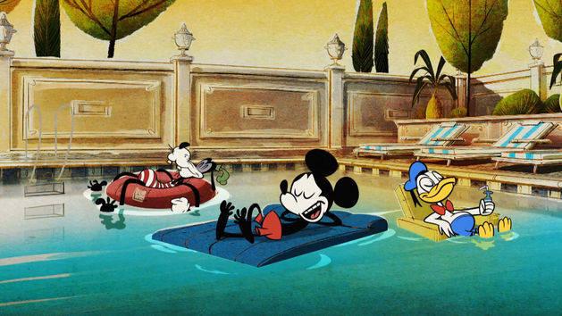 Mickey Mouse in Koelbloedig