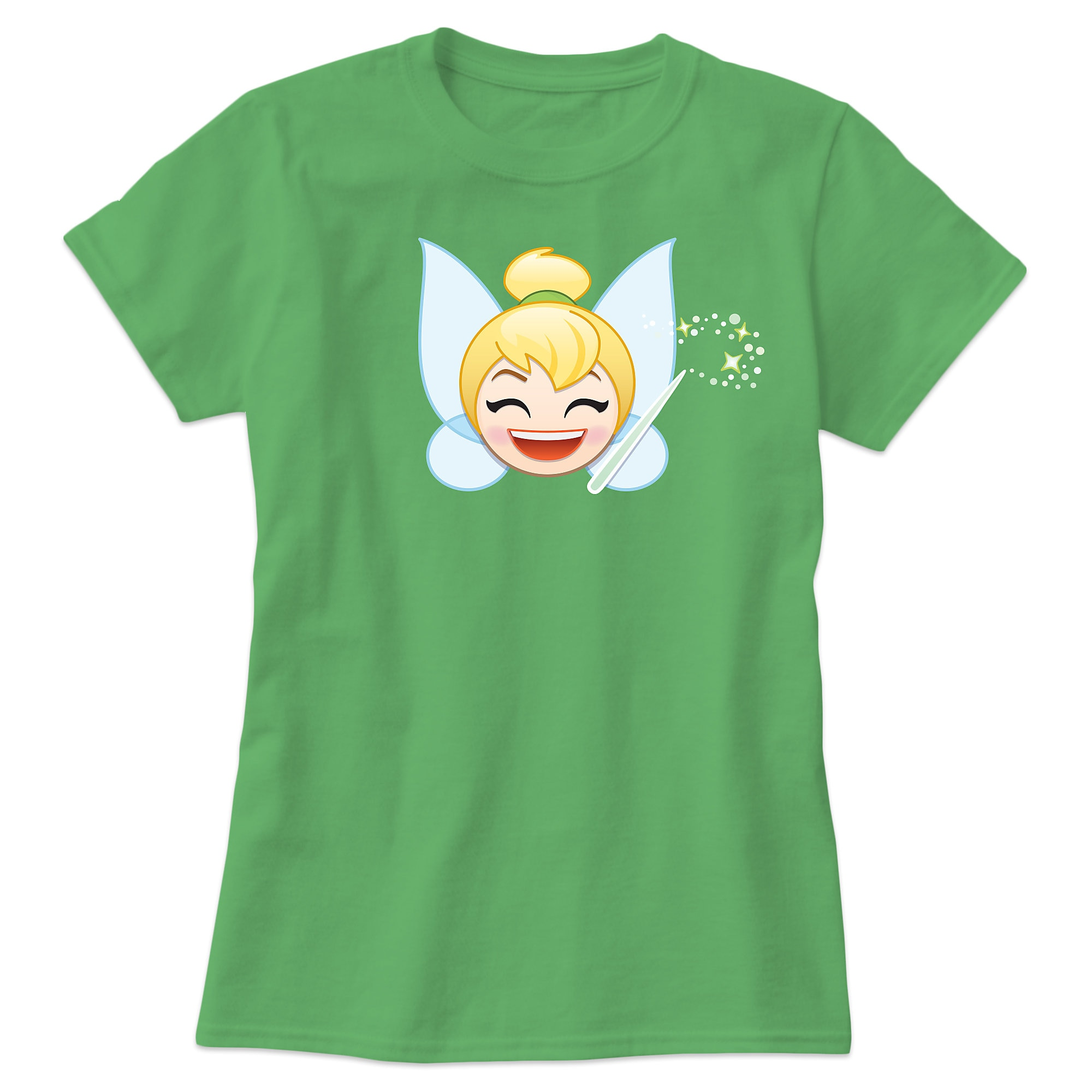 Tinker Bell Emoji Tee for Women - Customizable